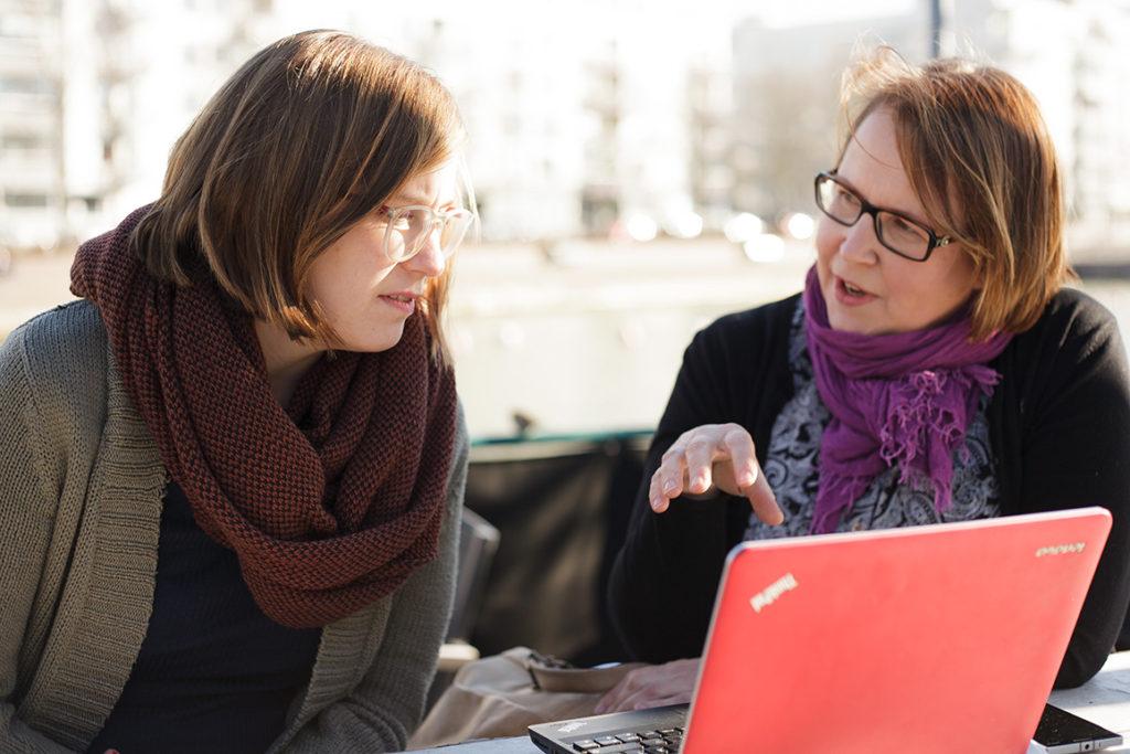 Sonja och Irene kommer att jobba med att utvidga 4BT:s verksamhet i framtiden.