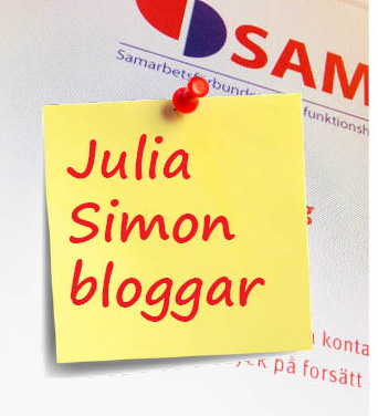 Julia Simon är månadens bloggare featured image