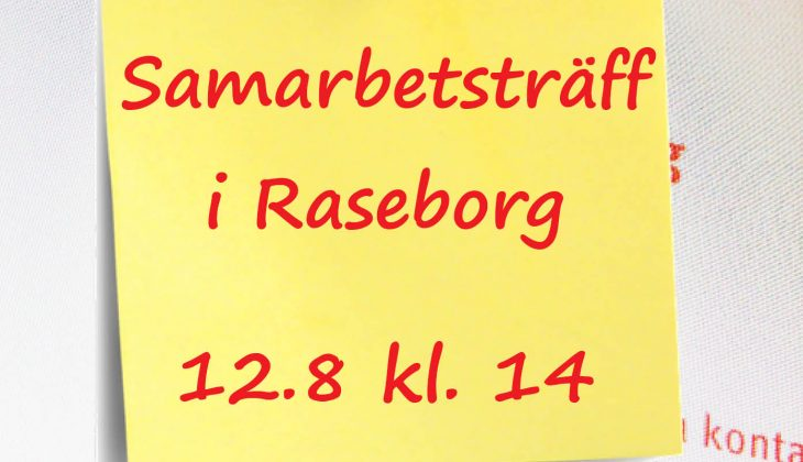 Regional samarbetsträff i Raseborg 12.8 featured image