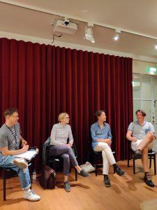 Paneldiskussion om dejting förr och nu under Helsingfors pridevecka 2019