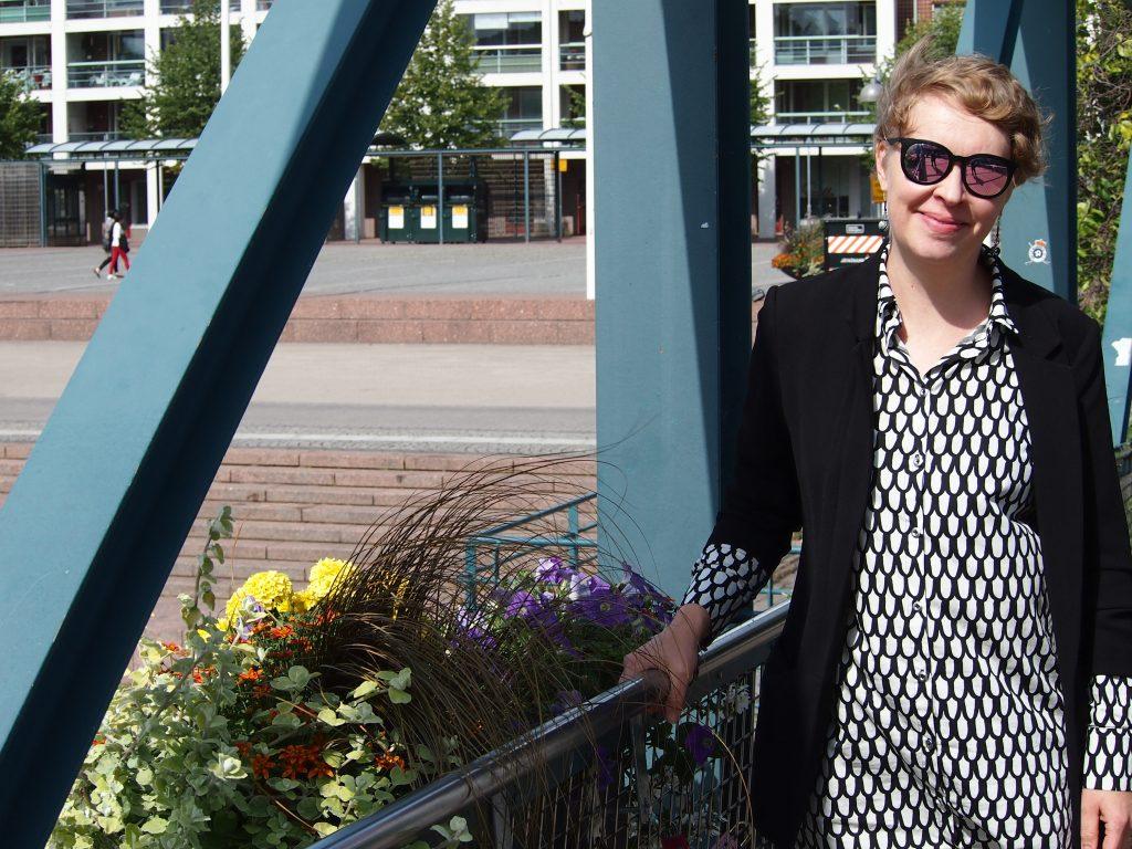 SAMS presenterar verksamhetsledare Ilona Salonen