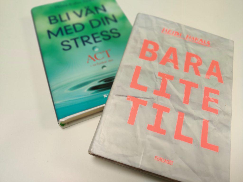 De två författarnas böcker