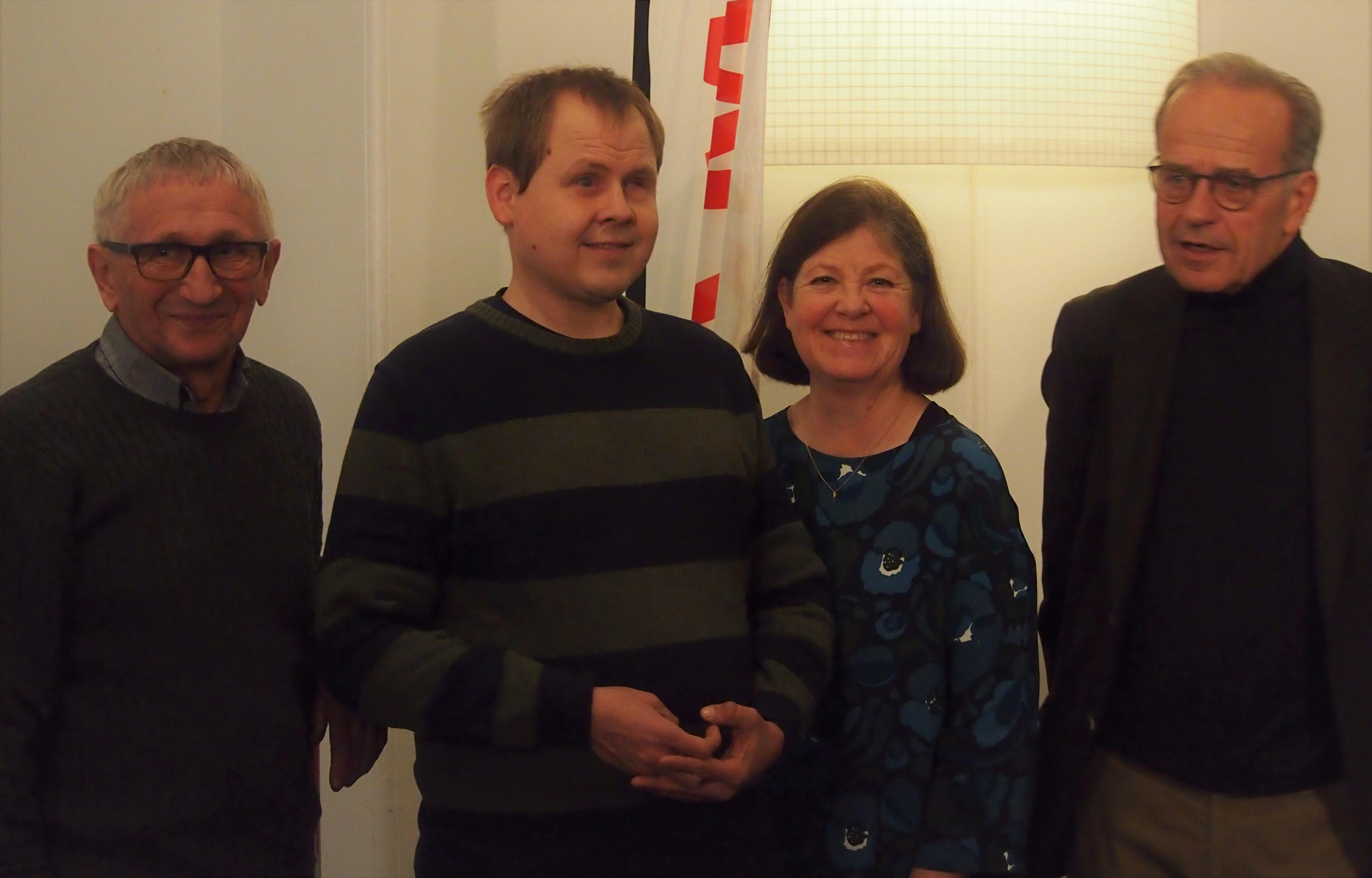 Bild på Christer Rönnlund, Johan Sundholm, Beatrice Wahlström, Martin Relander