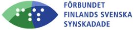 Förbundet Finlands Svenska Synskadades logo.