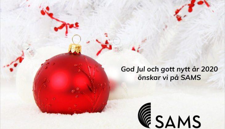 God jul och gott nytt år 2020 önskar vi på SAMS featured image