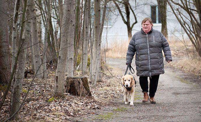 Podden Snack om funktionshinder: Internationella ledarhundsdagen featured image