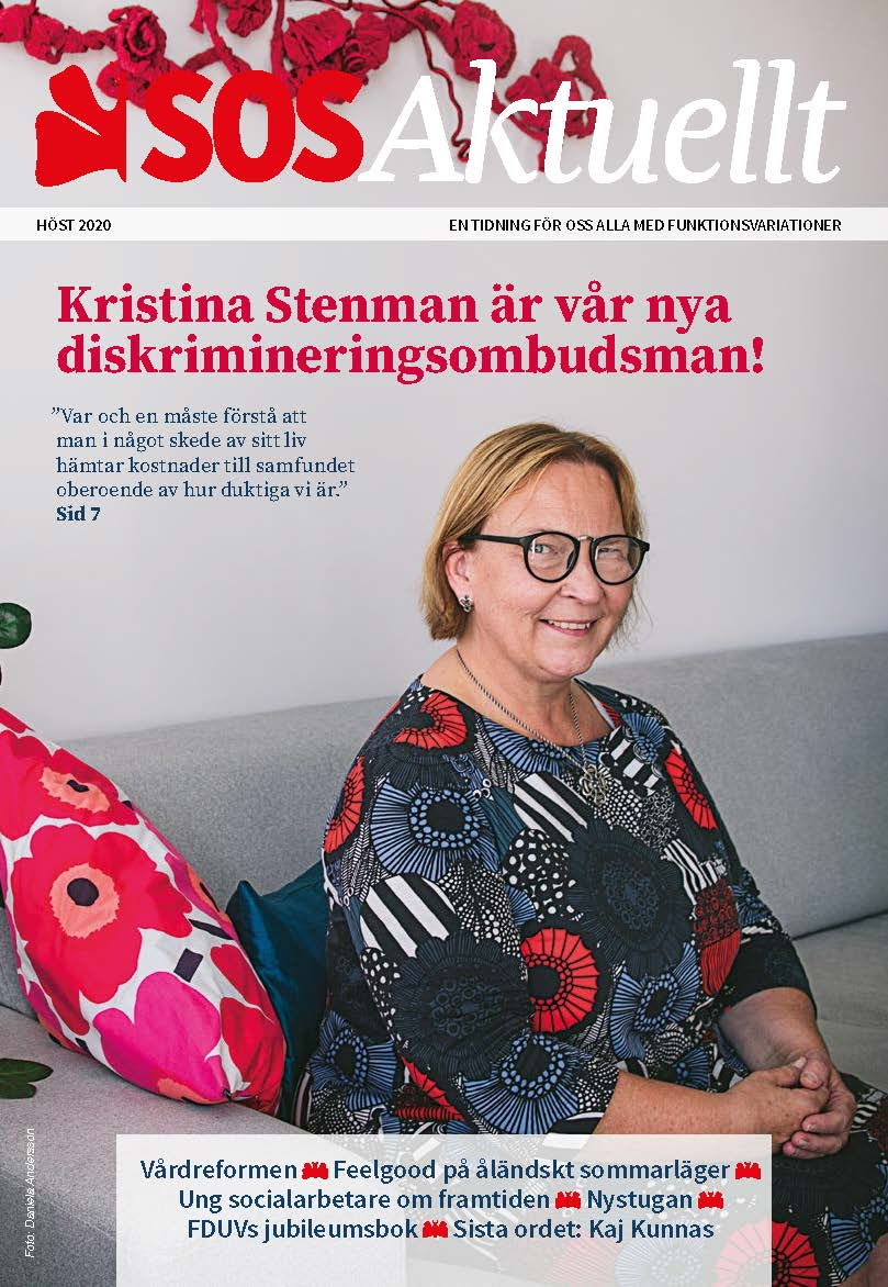 Tidningen SOS Aktuellts pärm, nummer 3 år 2020.