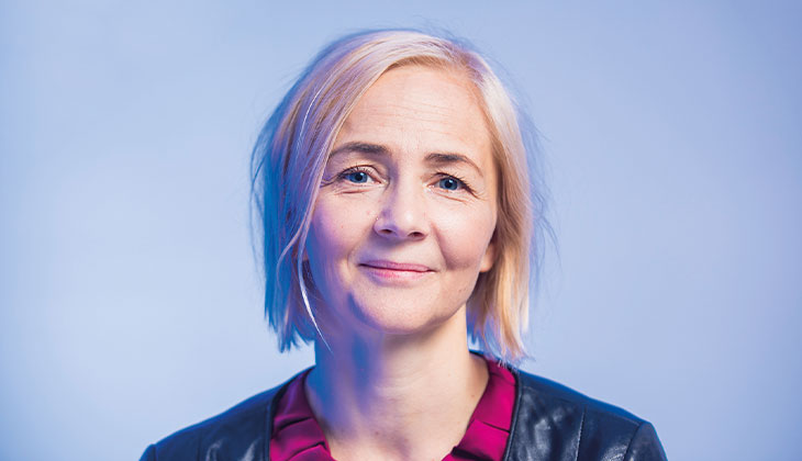 Bild på Camilla Lindholm.