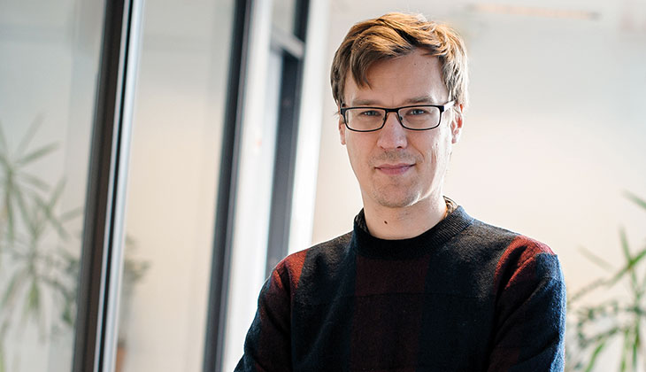 Bild på Frank Lundgren från Steg för Steg.