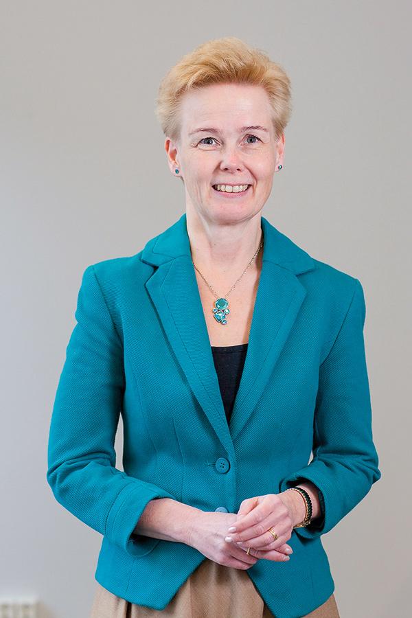 Merja Heikkonen. Generalsekreterare vid VANE.