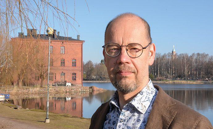 Kristian Wahlbeck, forskningsprofessor vid Psykisk Hälsa Finland..