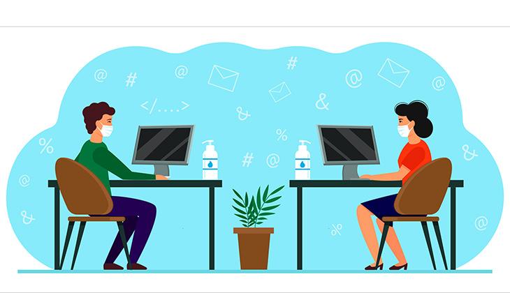 Många har blandade känslor inför återgången till kontoret –läs våra fem tips för att orka på jobbet i höst featured image
